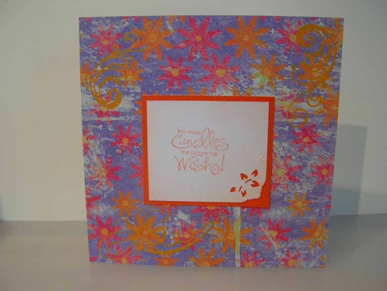 The more candles the bigger the wish! Card