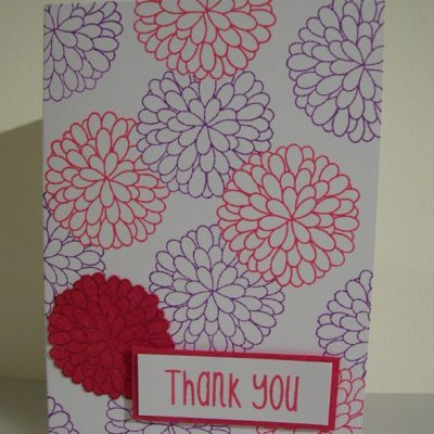 thanks from the bottom of my heart Card