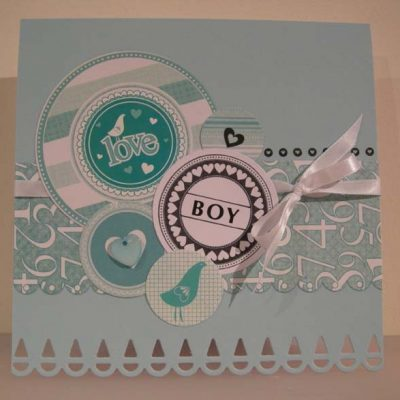 Sween Baby Boy Card