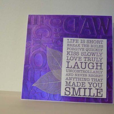 Memories Life Card