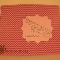 Welcom Baby Flip-it Card