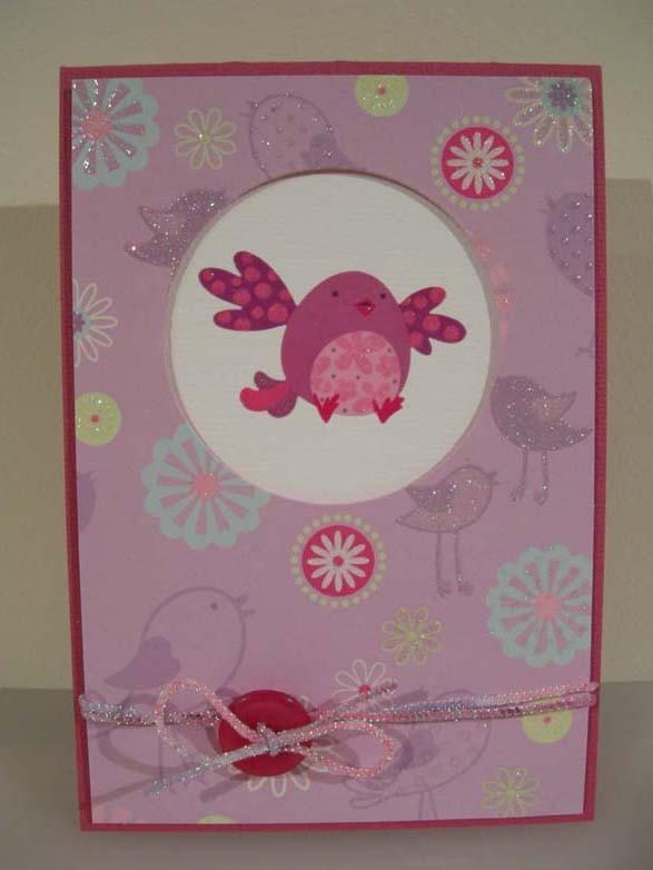 Little Bird Card