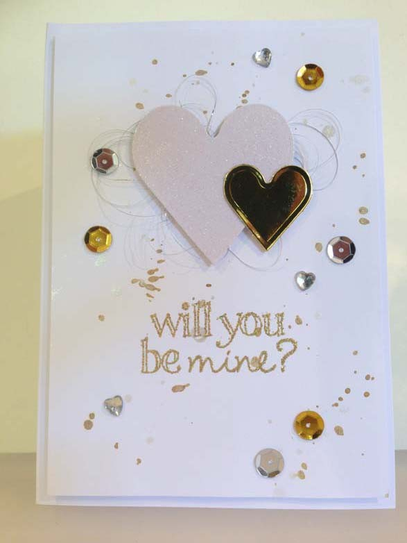 will you be mine? Card