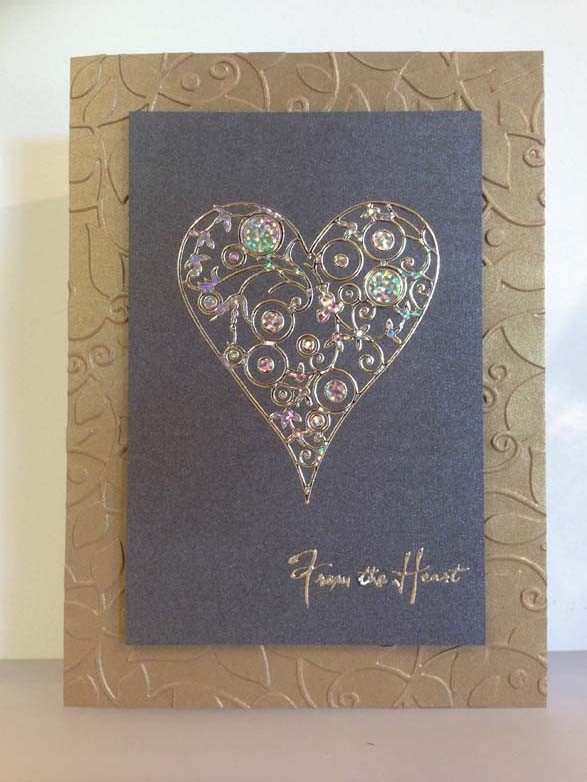 From the heart Card