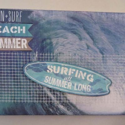 Surfing all Summer Long Card