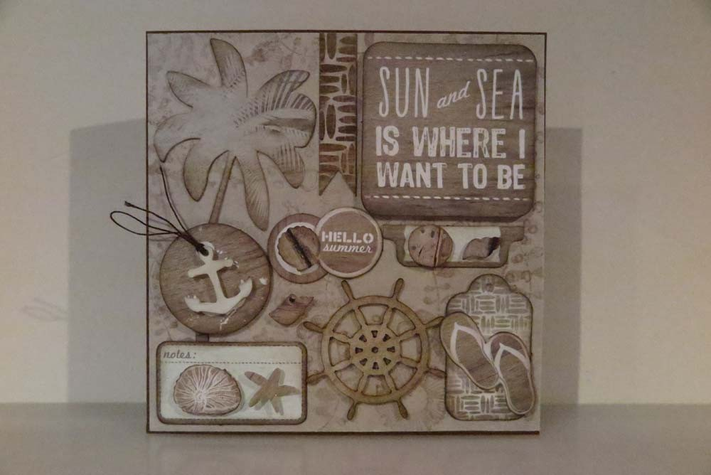 Sun and Sea Card