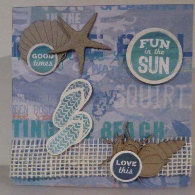Fun in the Sun Card