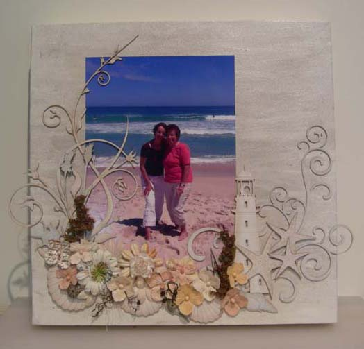 First Scrapbooking Canvas