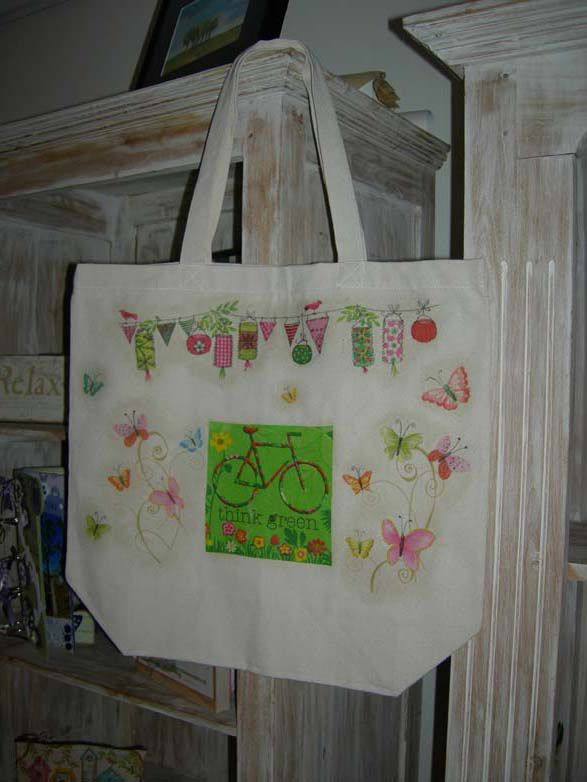 finished bag first side