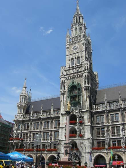 Munich Town Hall / Rathaus in Muenchen