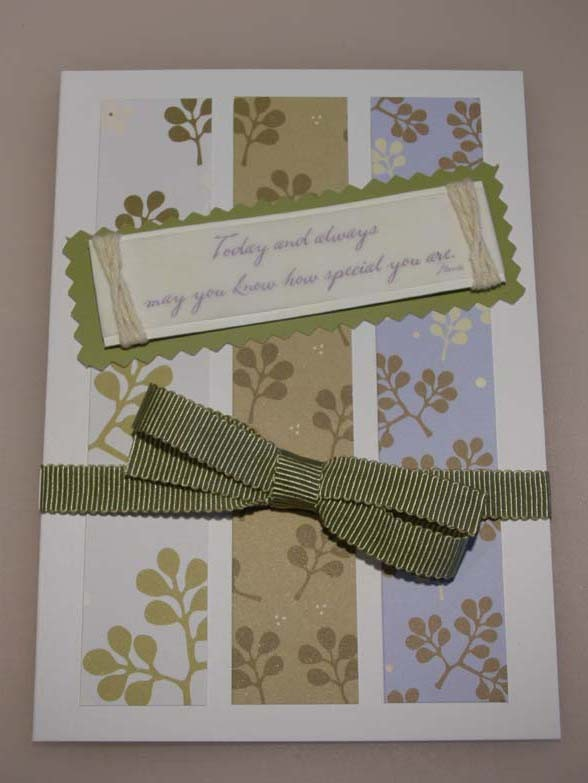 """""""Today and always may you know how special you are"""" Card"""