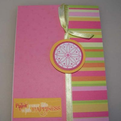 Paint your life with HAPPINESS Card