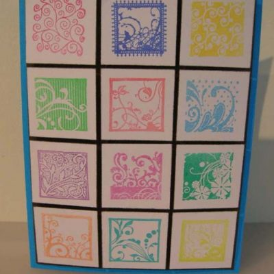Squares Card