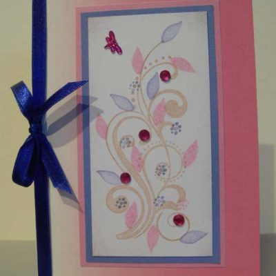 Swirls Card