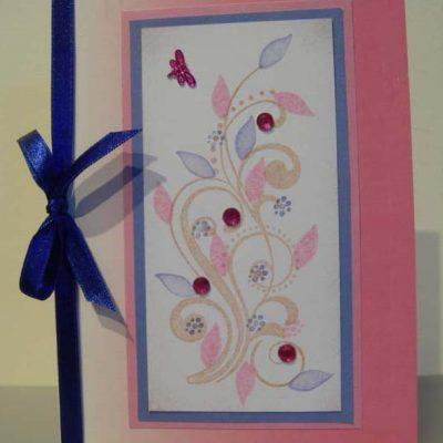 Swirls Card