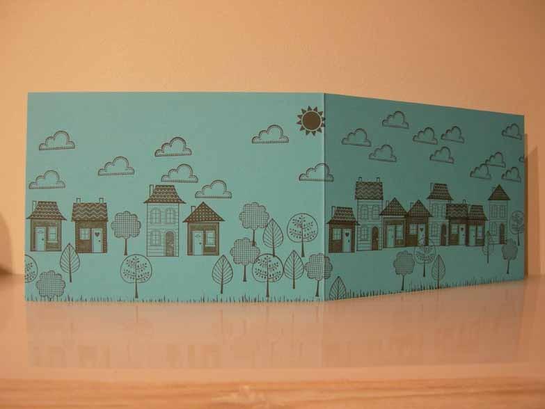 Littel village Card