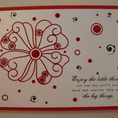remember this moment Card