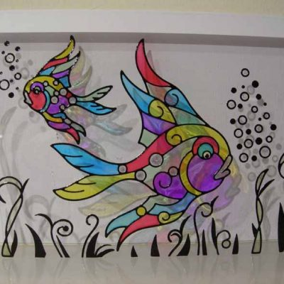 Rainbow Fish Card