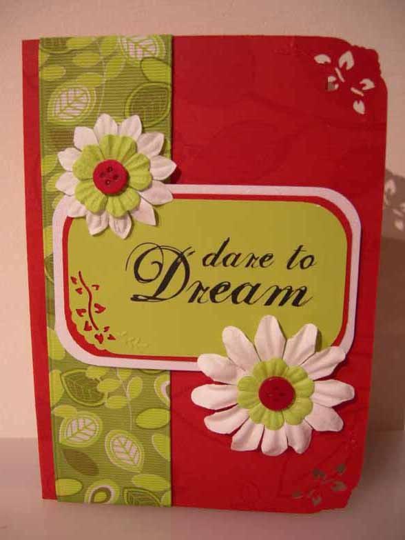 dare to Dream Card