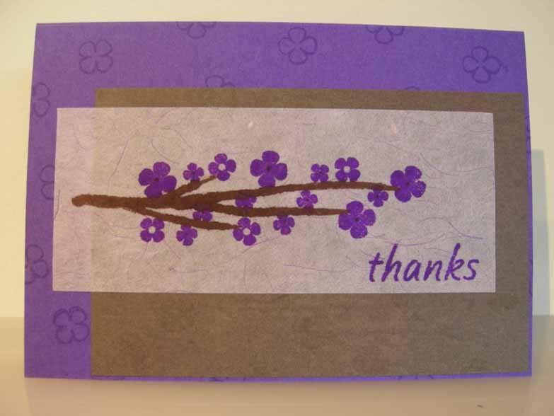 thanks so much Card