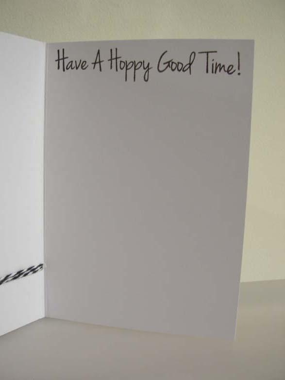 Hoppy Birthday!!! Card