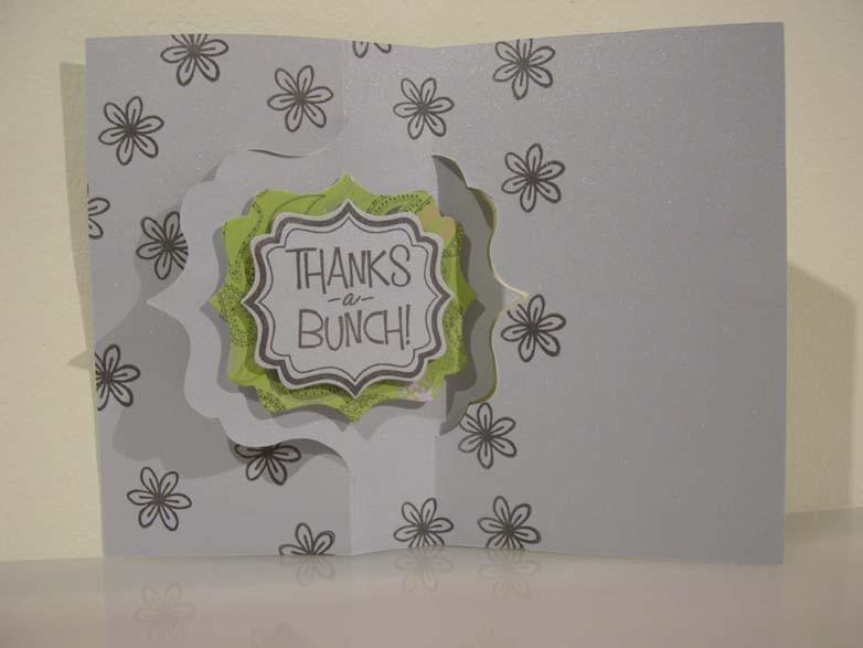 thanks a bunch Flip-it Card