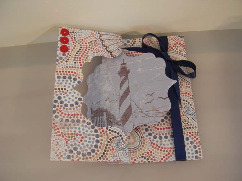 Lighthouse Flip-it Card