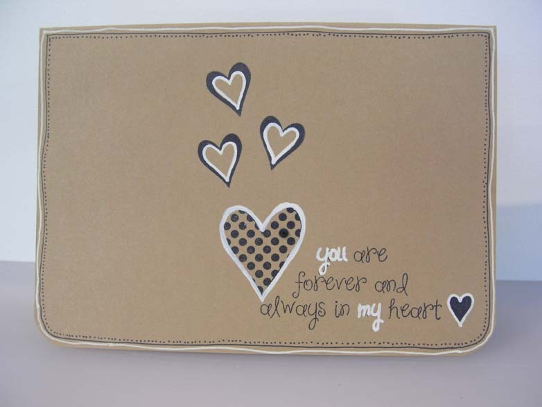 when I want to see love... Card