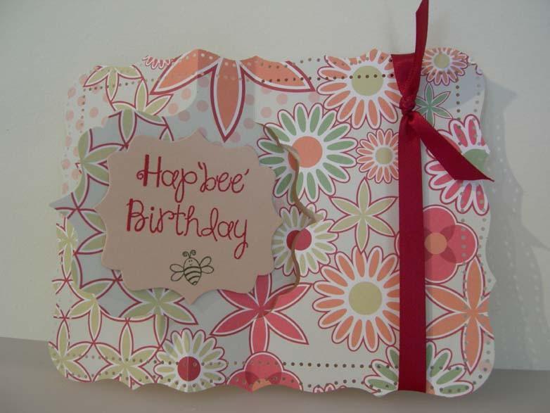 Hap'bee' Birthday Flip-it Card