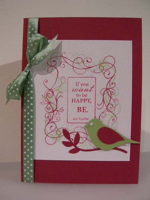 stop & dance in the flowers Card