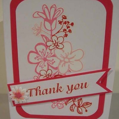 Thank you from the bottom of my heart! Card