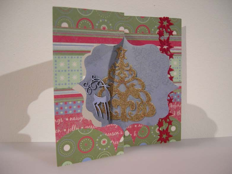 Christmas Flip-it Card