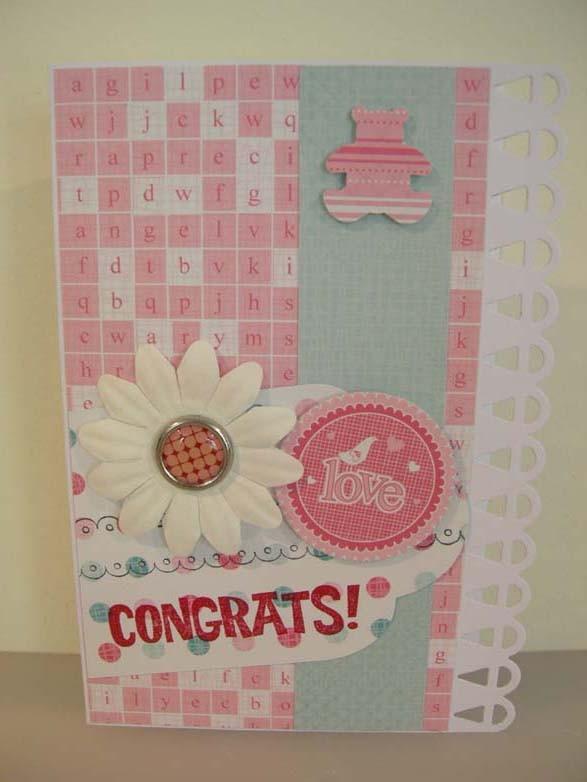 Twin Baby Card