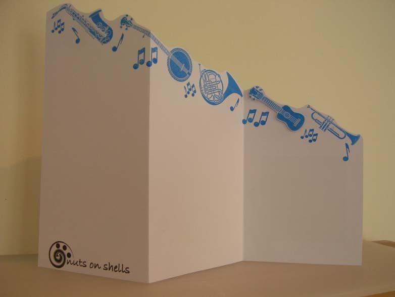 Happy 50 Birthday tri fold Card
