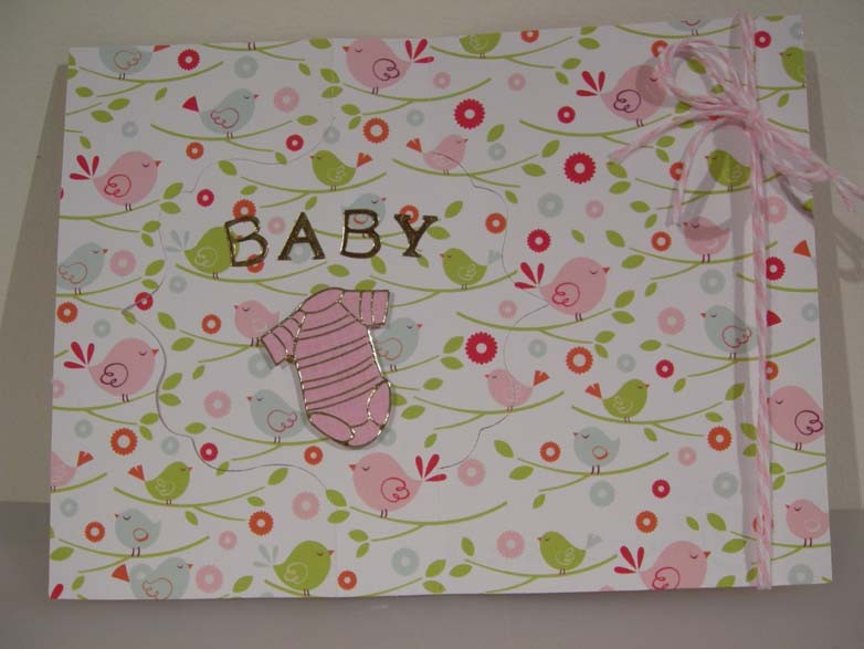 Welcom Baby Flip-it Card