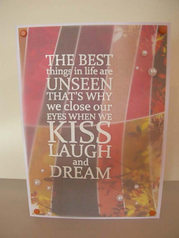 The best things Card