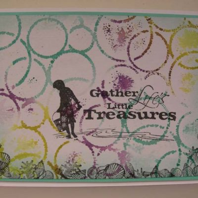Gather Life's little Treasures Card