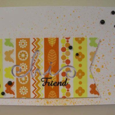 Hi Friend Card