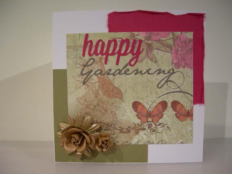 Happy Gardening Card