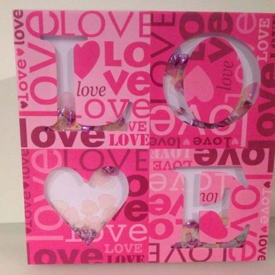 Love Shaker Card