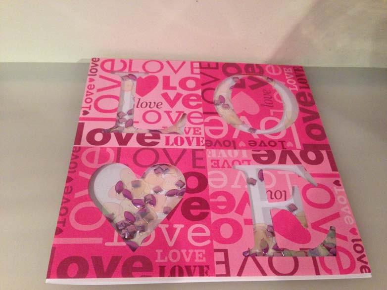 Love Shaker Card