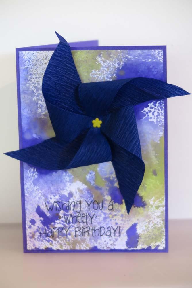 Wheely Birthday Card