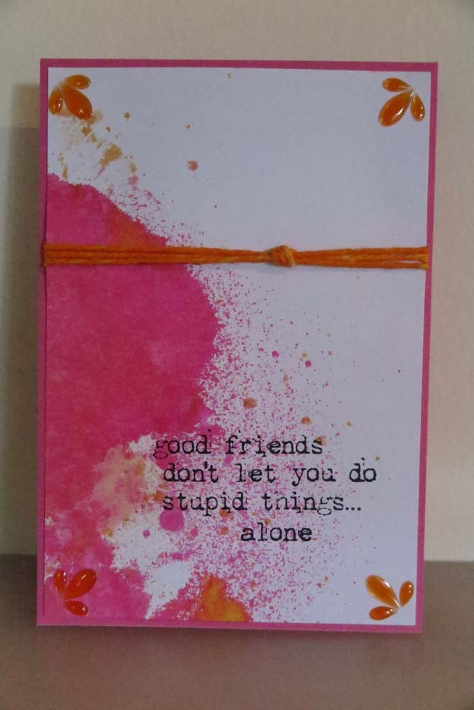 good friends Card