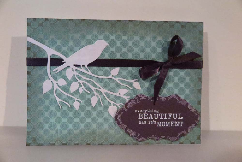 Everything Beautiful has it's Moment Card
