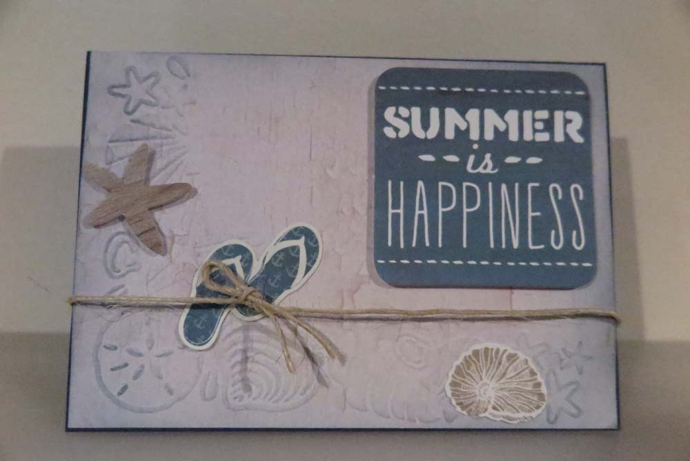 Summer is Happiness Card