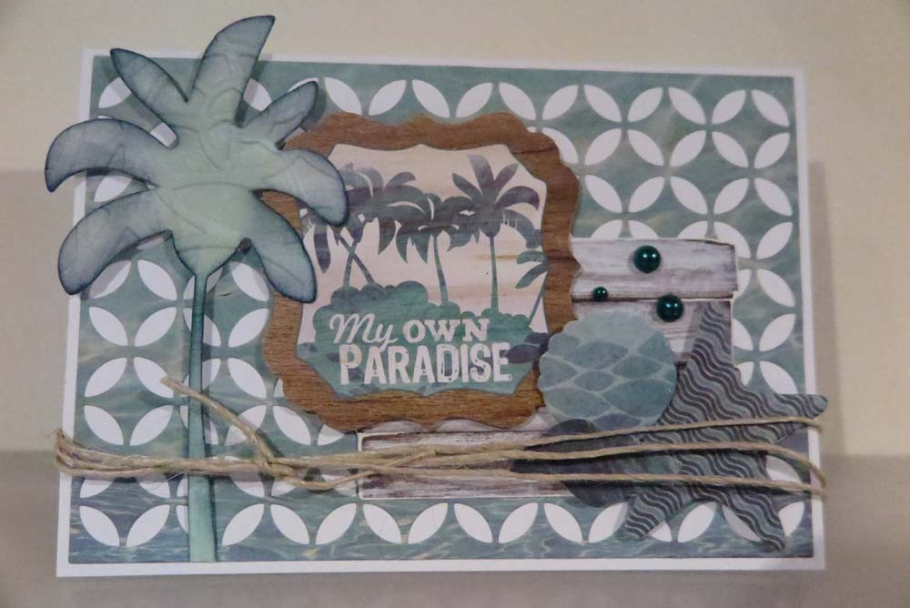 My Own Paradise Card