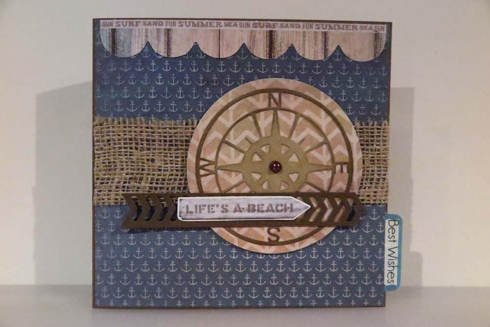 Life's a Beach Card