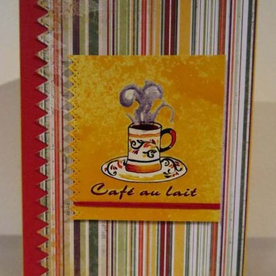 Cafe au lait Card