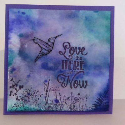 Love the HERE and Now Card