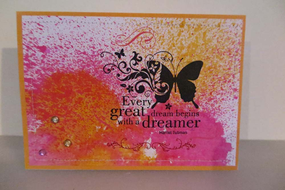 Every great Dream begins with a dreamer Card